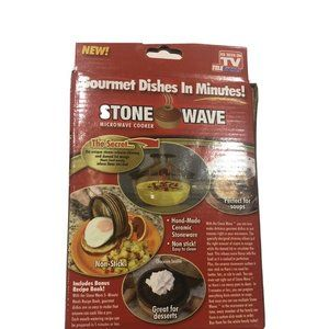 Stone Wave Micro Cooker - As Seen On TV Microwave